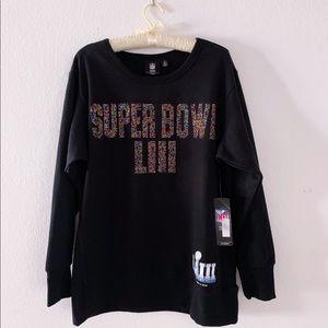 Super Bowl LIII Women's Rhinestone Sweater